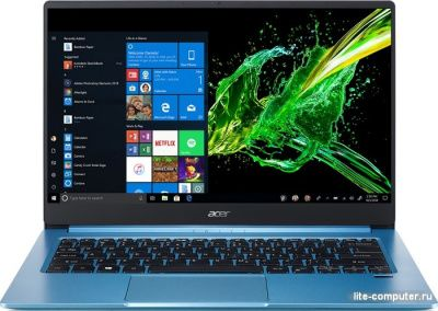 Ноутбук Acer Swift SF314-57G-519K i5-1035G1/MX350 2Gb DDR5/1.19 кг (NX.HUGER.001) от интернет-магазина Lite-Computer.ru